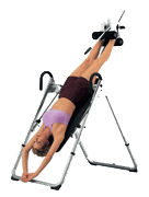 inversion table back pain pkd pld